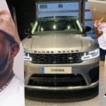 """""""This is the real assurance"""" - Davido dragged as Kenneth Omeruo Gifts wife Range Rover"""