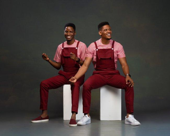 Elozonam and his twin brother recreates childhood photos on their birthday