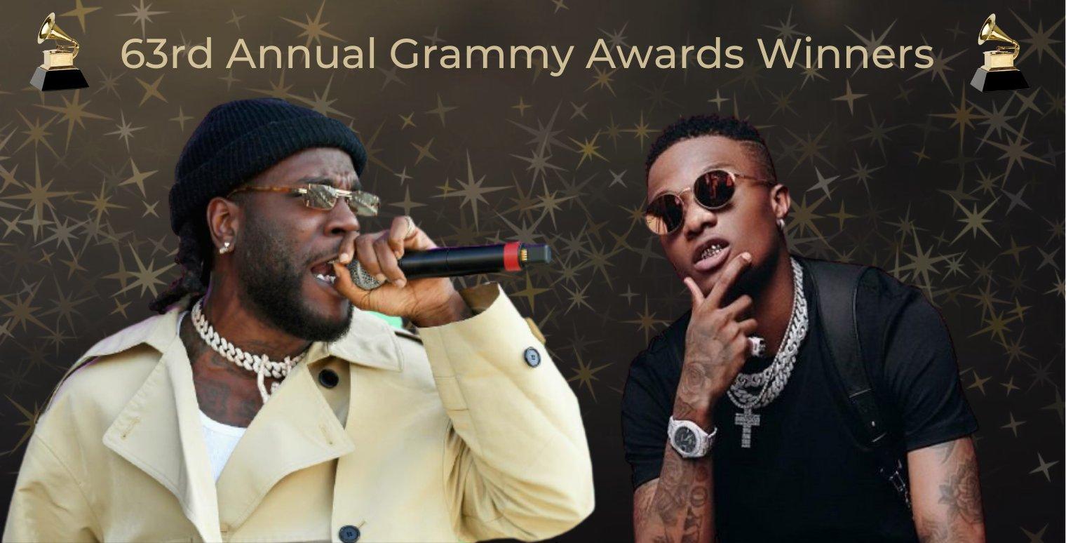 James Brown Grammy Wizkid