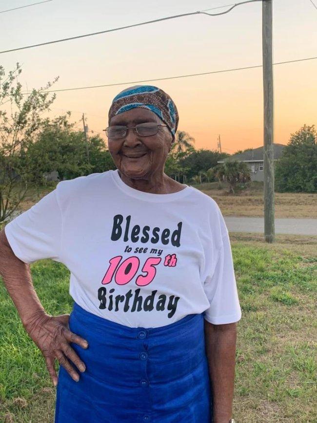 grandma 105 years old