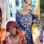 Bobrisky welcomes grandma who declared love for him to his mansion (Video)