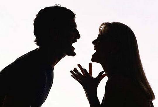 Man slaps his girlfriend