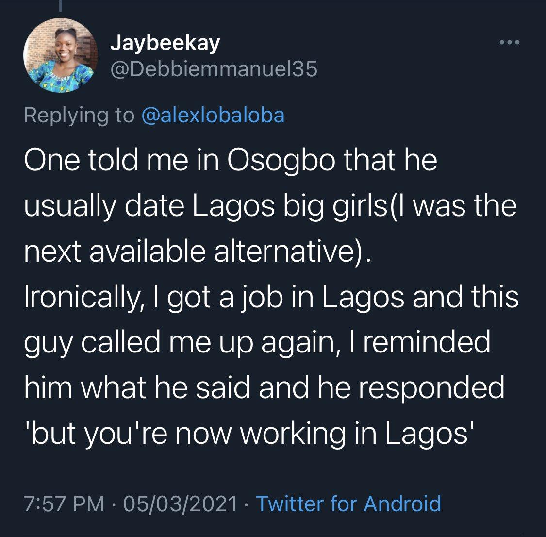 "Lady ""Lagos Big Girls"""
