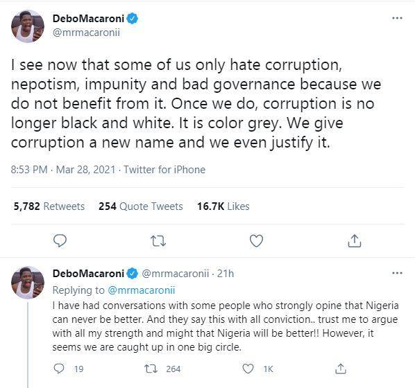 Mr Macaroni People Evil
