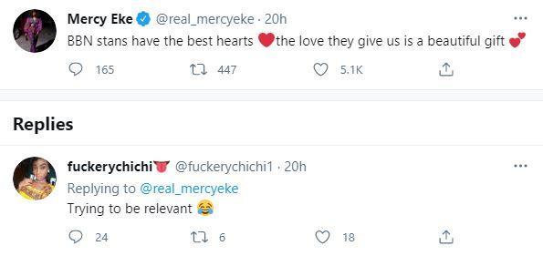 Mercy Eke Relevant Pray