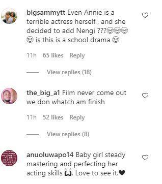 Annie Idibia Nengi Movie