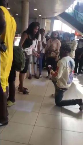 Man Marriage Proposal Cries