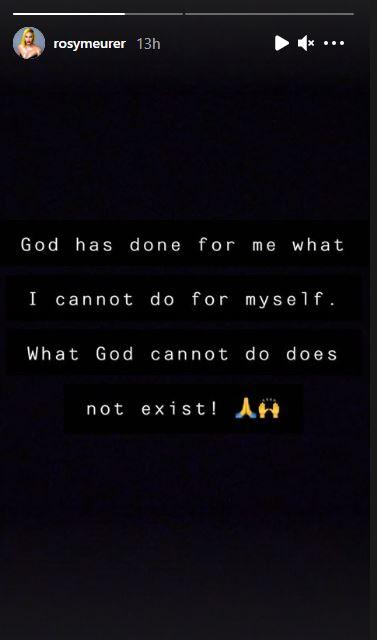 Rosy Meurer Criticisms God