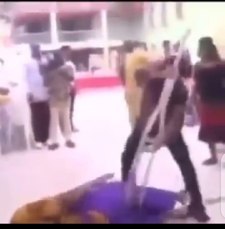 Prophet  Odumeje miracle crutches