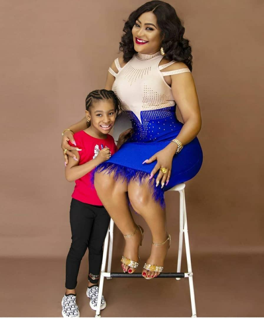 uche elendu and daughter