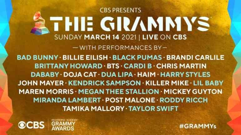 Fans react as Burna Boy's name is omitted on list of artistes performing at Grammy