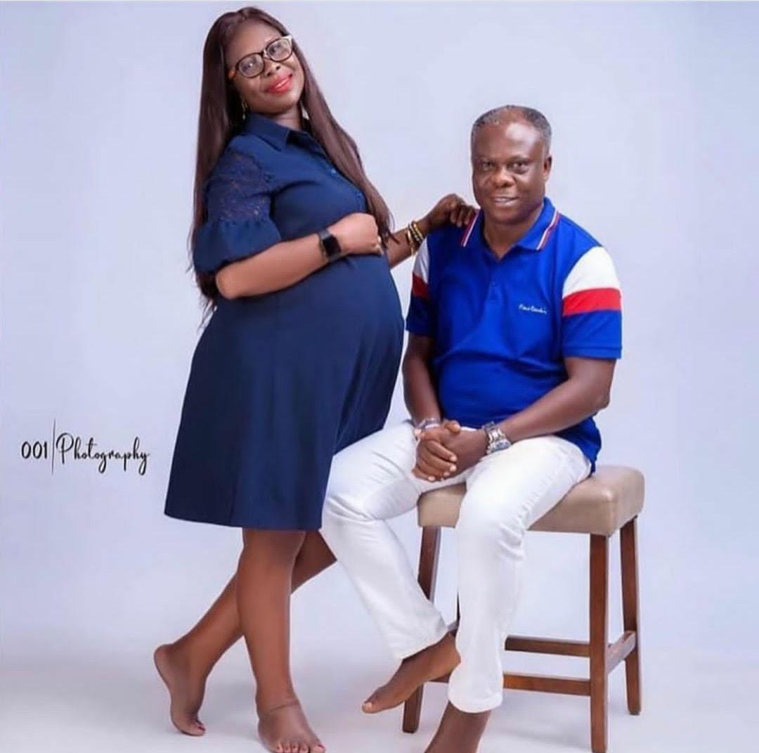 Couple shares maternal shoot ahead of first child delivery after 25 years of marriage