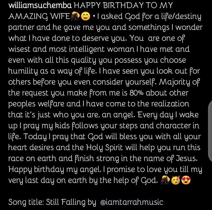 Williams Uchemba wife celebrate