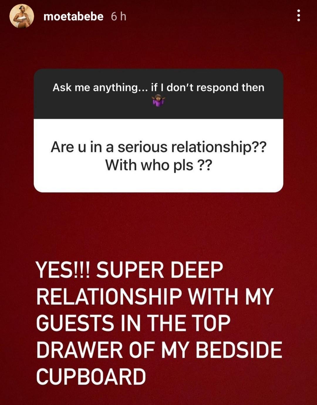 Moet Abebe marriage fraud