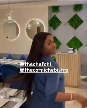 Chioma spotted enjoying baby girl's treatment amid Davido's saga (Video)
