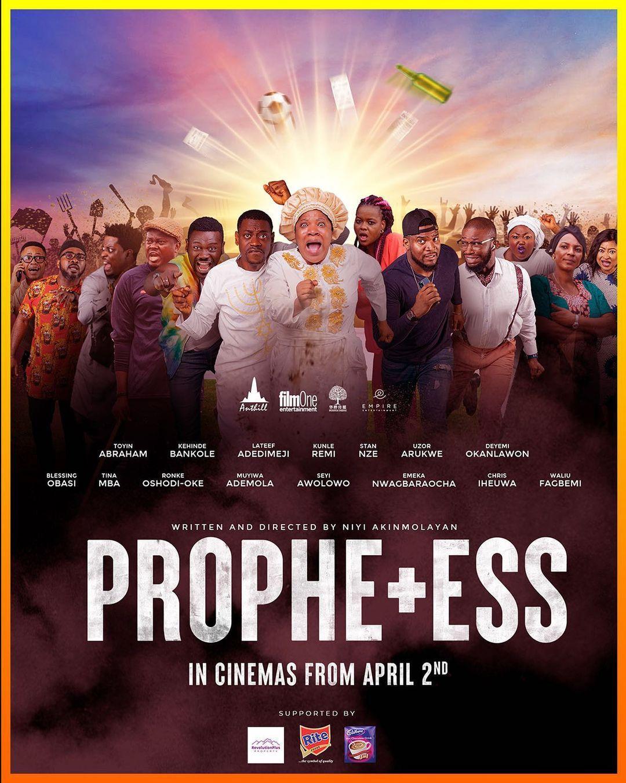 Toyin Abraham Prophetess opening weekend