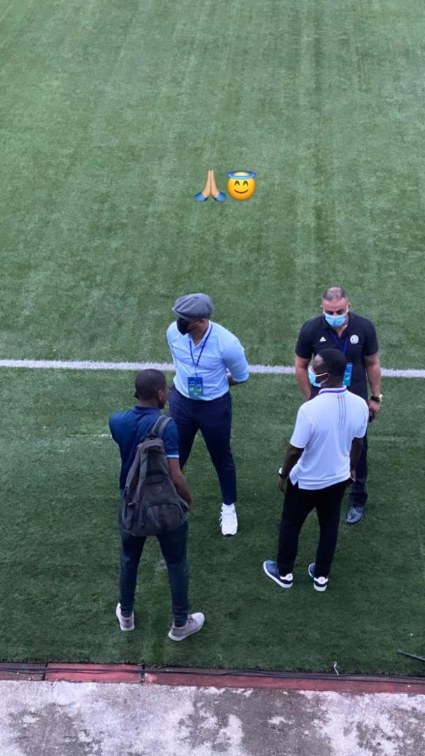 Ozo CAF Appointed Coordinator Enyimba