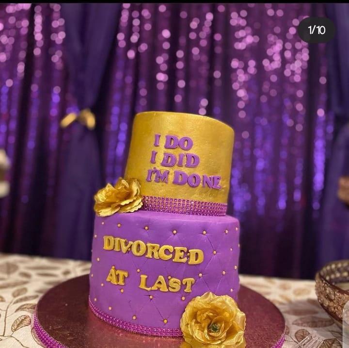 celebrates divorce