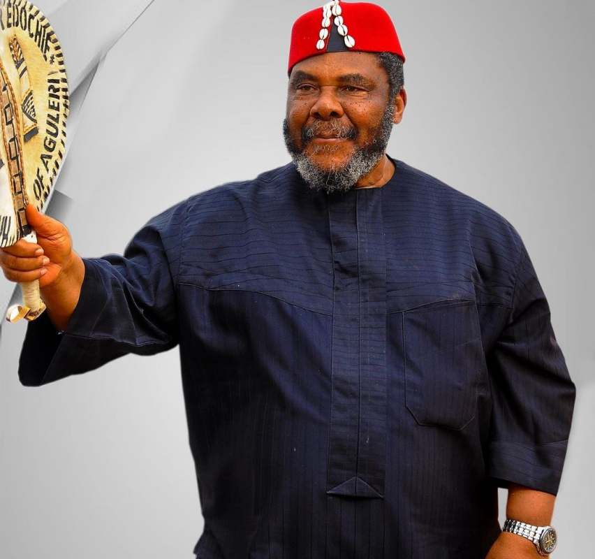 """""""I've never laid a finger on my wife since 52 years of our marriage"""" - Pete Edochie"""