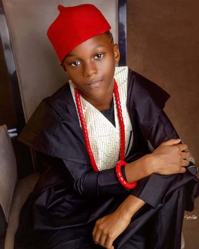 Paul Okoye celebrates son, Chukwunonso as he marks 8th birthday