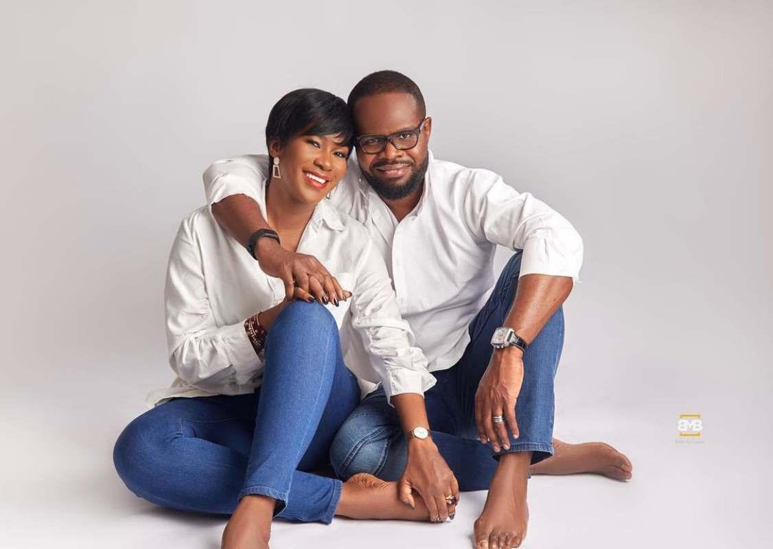 Stephanie Okereke celebrates 9th wedding anniversary with stunning photos