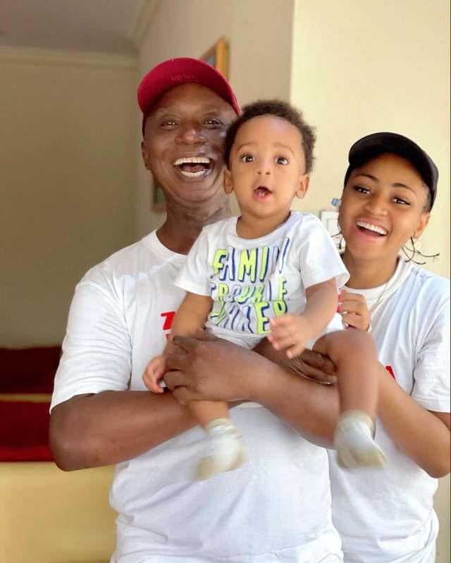 Regina Daniels and Ned Nwoko celebrate their son, Munir as he clocks 10 months old