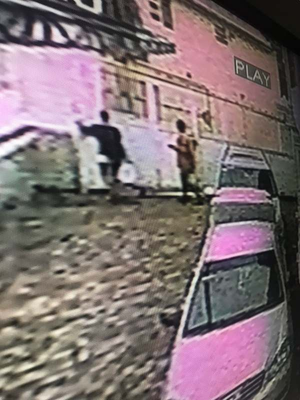 CCTV exposes lady who stole her friend's birthday cake and drinks after denying