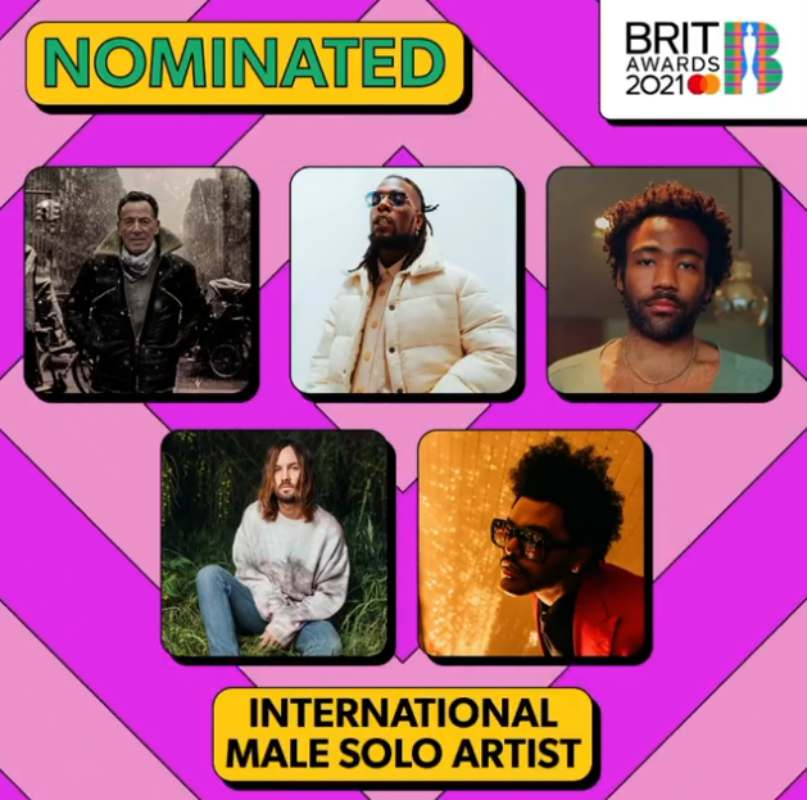 BRIT Awards 2021: Burna Boy's 'Twice as tall' bags nomination