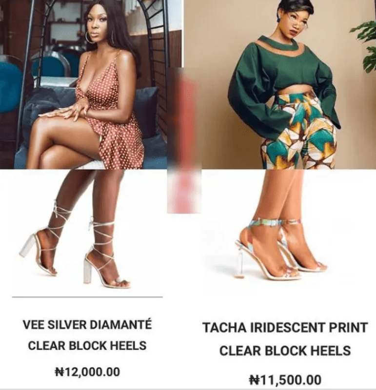 Reactions as Nengi launches shoe business, names collection after ex-housemates