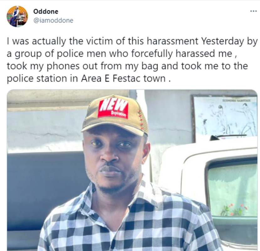 Dubai returnee laments after Nigeria Police extorted him of N200K on his way from the airport
