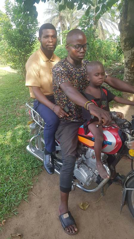 """""""My mother threatened me with cutlass, locked me up"""" - Young boy accused of witchcraft reveals"""