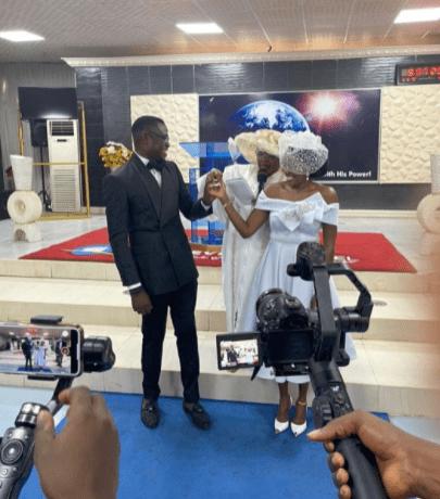 Biola Adebayo Church Wedding