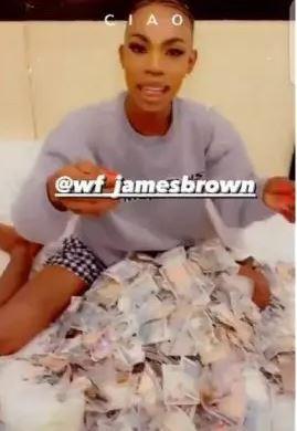 James Brown leave crossdressing