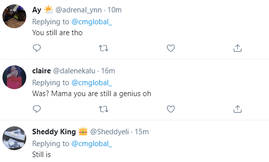 Cynthia Morgan Genius Reactions