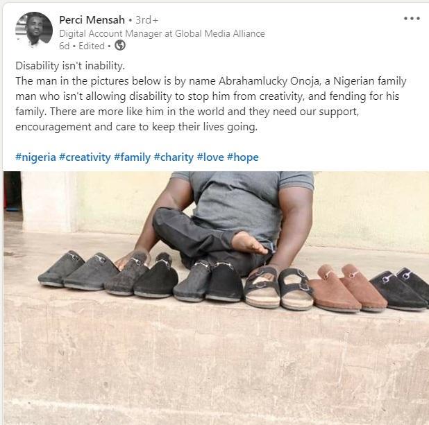 Footwears artistic work social media