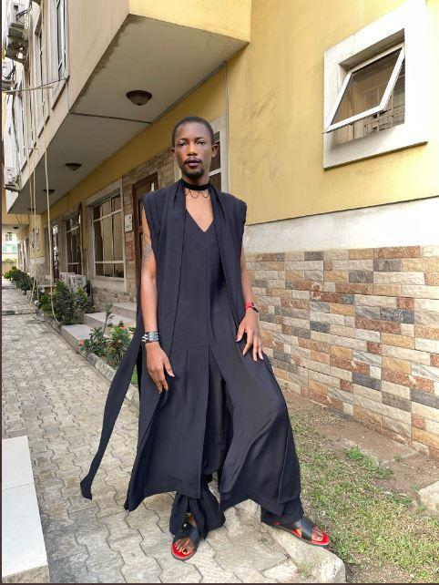Ezra Obuli paystack wedding attire lagos