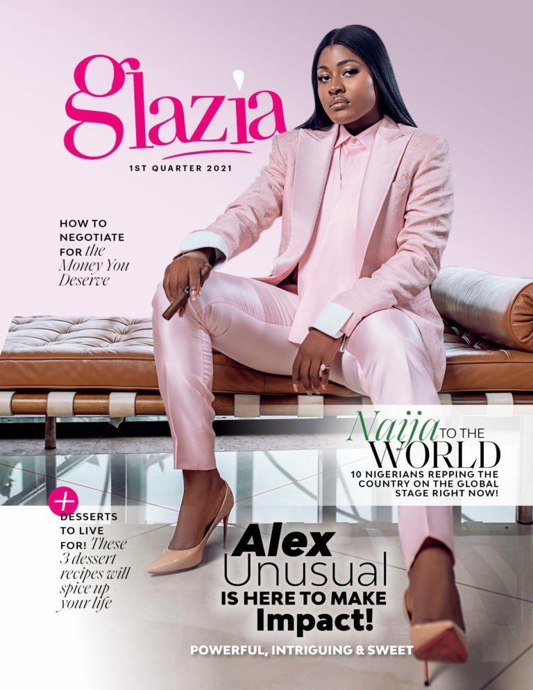 Alex Unusual magazine