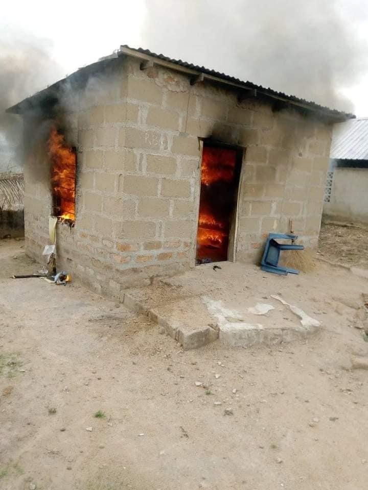 Lady Fire Benue State Boyfriend's house
