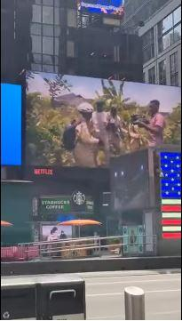 Ikorodu Bois Billboard Times Square Netflix