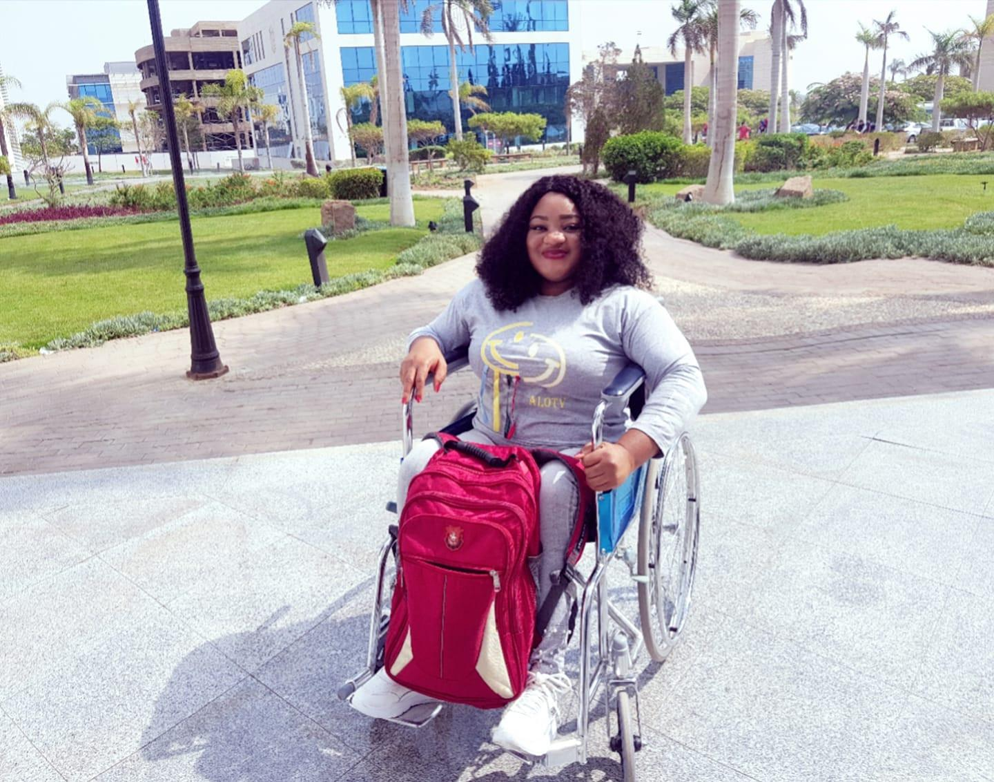 Physically Challenged lady marriage social media