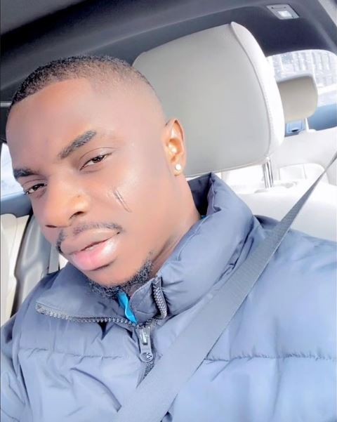 MC Oluomo's son Background Proud Instagram