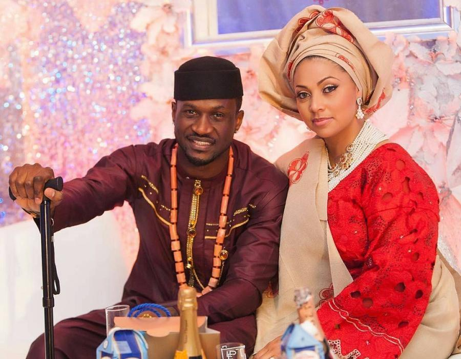 Peter Okoye Wife Lola Met