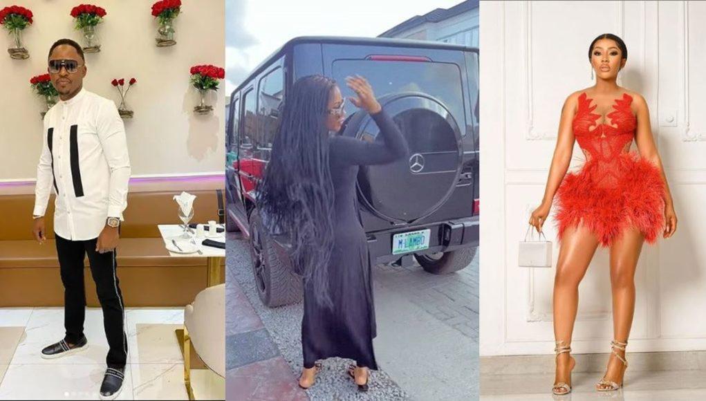 Mercy Eke Blogger G-Wagon