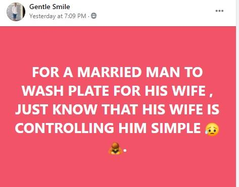 married men dishes