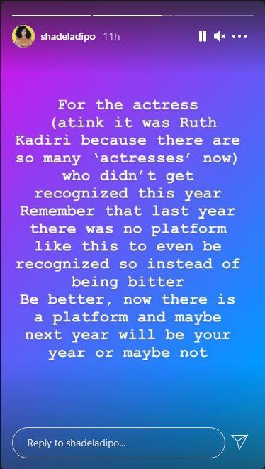 Shade Ladipo Ruth Kadiri Eko Awards