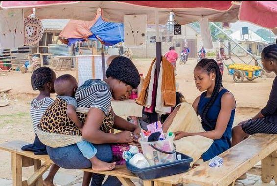 Tonto Dikeh empower widows