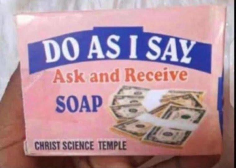 """Cut soap for me"" - Reaction as man hunts for producers of 'money-making' soap"