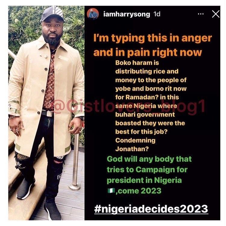 Harrysong rant  Nigeria