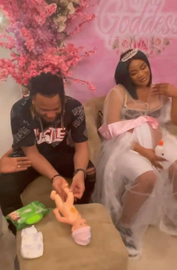 Uche Ogbodo baby shower