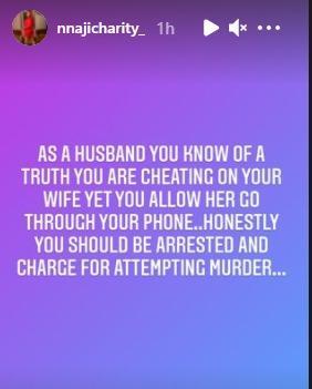 Nnaji Charity married murder